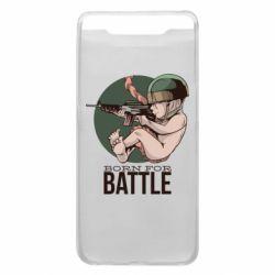 Чехол для Samsung A80 Born For Battle