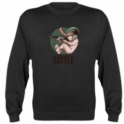 Реглан (свитшот) Born For Battle
