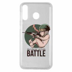 Чехол для Samsung M30 Born For Battle