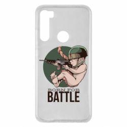 Чехол для Xiaomi Redmi Note 8 Born For Battle