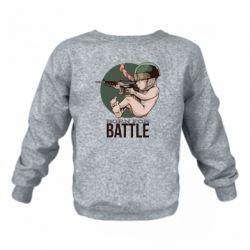 Детский реглан (свитшот) Born For Battle