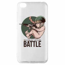Чехол для Xiaomi Redmi Go Born For Battle