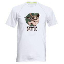 Мужская спортивная футболка Born For Battle