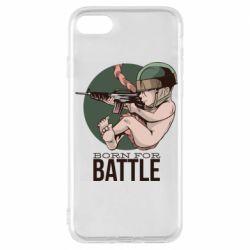 Чехол для iPhone 7 Born For Battle
