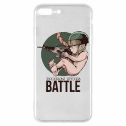 Чехол для iPhone 7 Plus Born For Battle