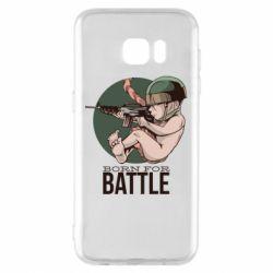 Чехол для Samsung S7 EDGE Born For Battle