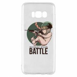 Чехол для Samsung S8 Born For Battle