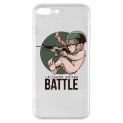 Чехол для iPhone 8 Plus Born For Battle