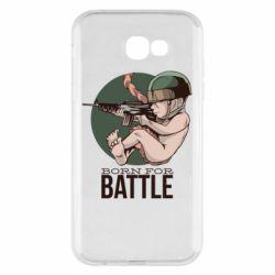 Чехол для Samsung A7 2017 Born For Battle