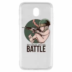 Чехол для Samsung J7 2017 Born For Battle