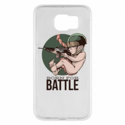Чехол для Samsung S6 Born For Battle