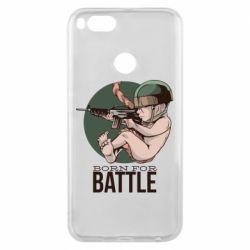 Чехол для Xiaomi Mi A1 Born For Battle