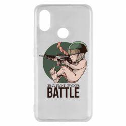 Чехол для Xiaomi Mi8 Born For Battle