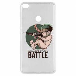Чехол для Xiaomi Mi Max 2 Born For Battle