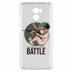 Чехол для Xiaomi Redmi 4 Born For Battle