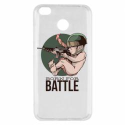Чехол для Xiaomi Redmi 4x Born For Battle