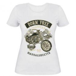 Жіноча футболка Born Free Choppers