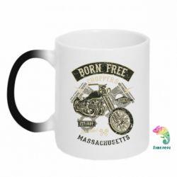 Кружка-хамелеон Born Free Choppers