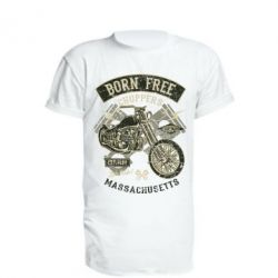 Подовжена футболка Born Free Choppers