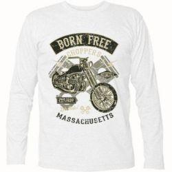 Футболка з довгим рукавом Born Free Choppers