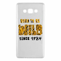 Чохол для Samsung A7 2015 Born to be wild sinse 1984