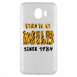 Чохол для Samsung J4 Born to be wild sinse 1984