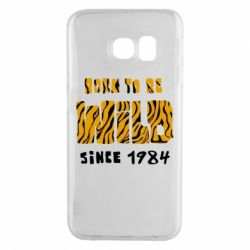 Чохол для Samsung S6 EDGE Born to be wild sinse 1984