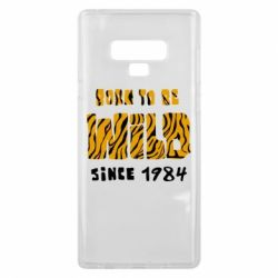 Чохол для Samsung Note 9 Born to be wild sinse 1984
