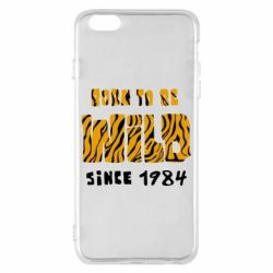 Чохол для iPhone 6 Plus/6S Plus Born to be wild sinse 1984
