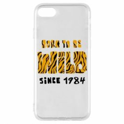 Чохол для iPhone 7 Born to be wild sinse 1984