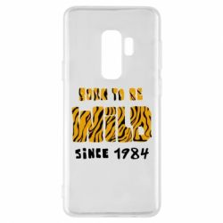 Чохол для Samsung S9+ Born to be wild sinse 1984