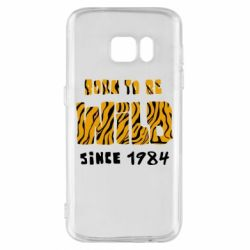 Чохол для Samsung S7 Born to be wild sinse 1984