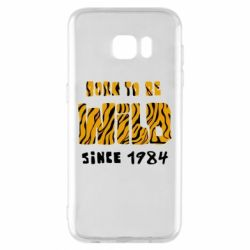 Чохол для Samsung S7 EDGE Born to be wild sinse 1984