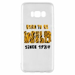 Чохол для Samsung S8 Born to be wild sinse 1984