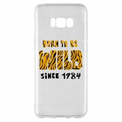 Чохол для Samsung S8+ Born to be wild sinse 1984