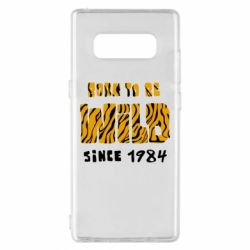 Чохол для Samsung Note 8 Born to be wild sinse 1984