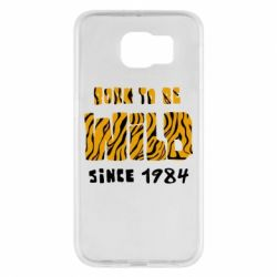 Чохол для Samsung S6 Born to be wild sinse 1984