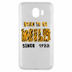 Чохол для Samsung J4 Born to be wild sinse 1988