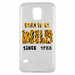 Чохол для Samsung S5 Born to be wild sinse 1988
