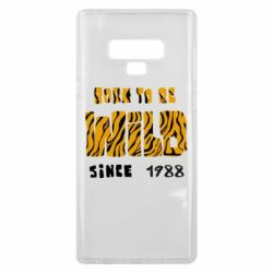 Чохол для Samsung Note 9 Born to be wild sinse 1988