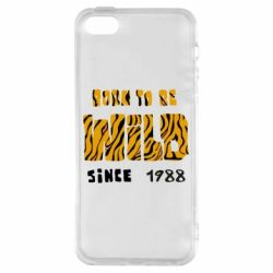 Чохол для iphone 5/5S/SE Born to be wild sinse 1988