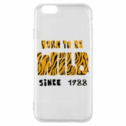 Чохол для iPhone 6/6S Born to be wild sinse 1988