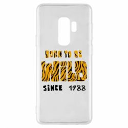 Чохол для Samsung S9+ Born to be wild sinse 1988