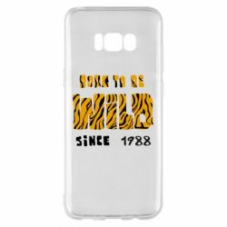 Чохол для Samsung S8+ Born to be wild sinse 1988