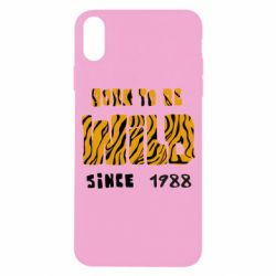 Чохол для iPhone X/Xs Born to be wild sinse 1988