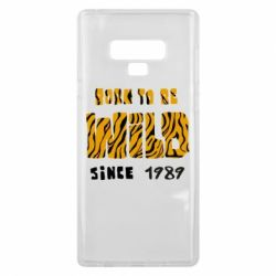 Чохол для Samsung Note 9 Born to be wild sinse 1989