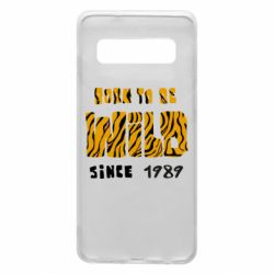 Чохол для Samsung S10 Born to be wild sinse 1989