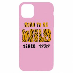 Чохол для iPhone 11 Pro Born to be wild sinse 1989