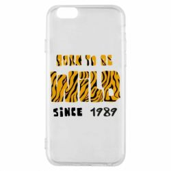 Чохол для iPhone 6/6S Born to be wild sinse 1989