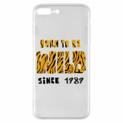 Чохол для iPhone 8 Plus Born to be wild sinse 1989